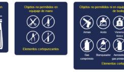 elementos y objetos prohibidos viva air