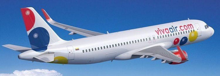 itinerarios viva air marzo 2018