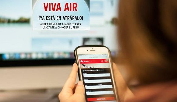 Viva Air Atrapalo.pe venta de pasajes aéreos online