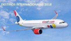 destinos internacionales viva air 2018