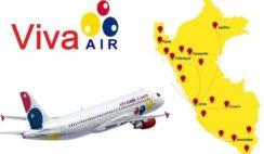 nuevos destinos nacionales viva air peru