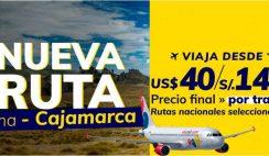 vuelos baratos cajamarca viva air