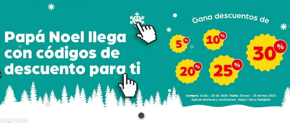 Destinos en Promoción Navidad 2020 con Viva Air