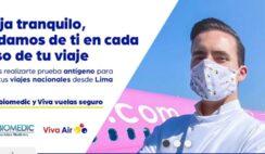 viaja seguro con viva air